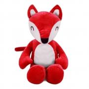 Brinquedo para Cachorro Pelúcia Raposinha Vermelha