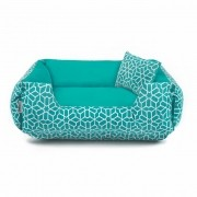 Cama de Cachorro Dupla Face Fancy - GG - Sunset Green