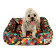 Cama de Cachorro Impermeável com Zíper Pandora - M - Colors Verde