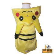 Roupinha Pet Pokemon para Cachorro e Gato - FRETE GRÁTIS*