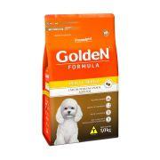 Ração Golden Fórmula Mini Bits para Cães de Pequeno Porte Adultos - Sabor Peru e Arroz
