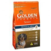 Ração Golden Fórmula Mini Bits Sênior para Cães de Pequeno Porte Adultos - Sabor Frango e Arroz