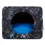Cama de Cachorro Gato Toca Iglu Premium Lousa Azul