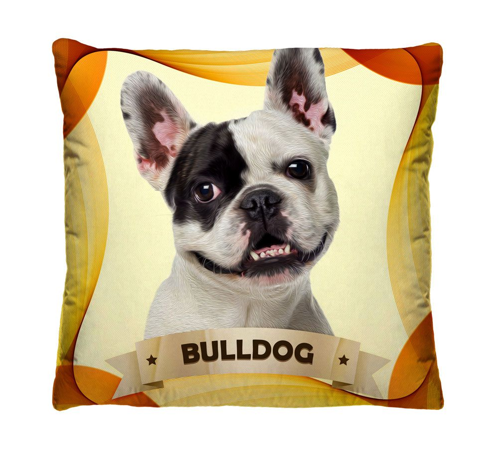 Almofada Bulldog Francês