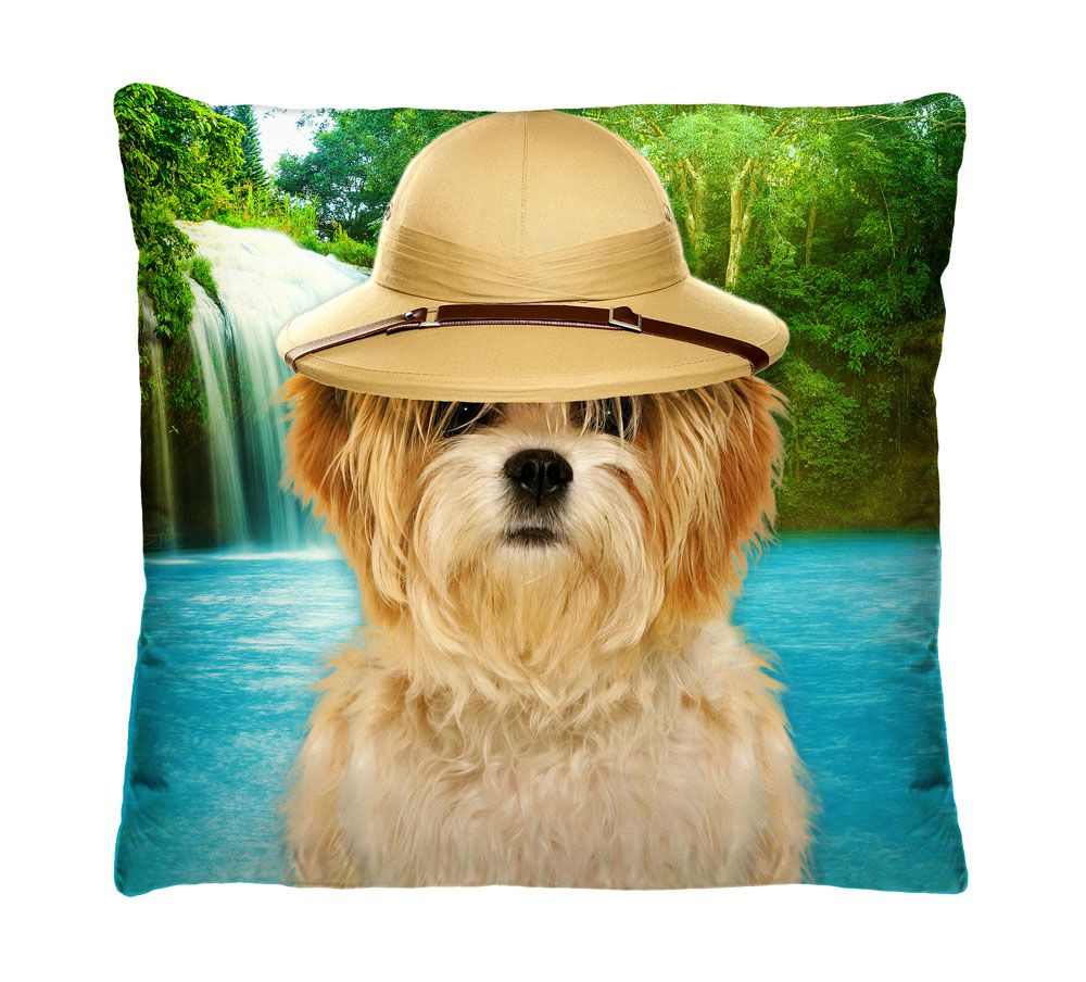 Almofada Cachorro Cachoeira