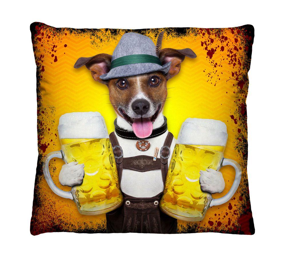 Almofada Cachorro Cervejeiro