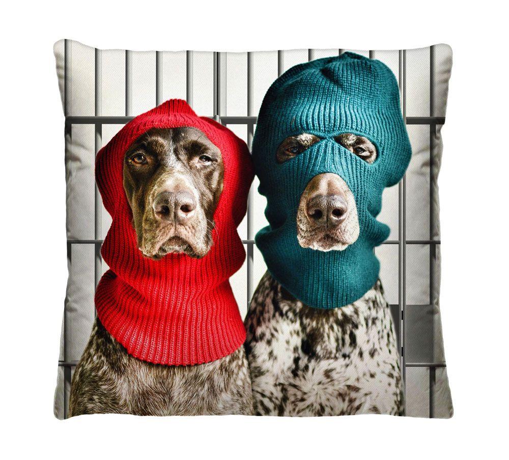 Almofada Cachorros Bandidos