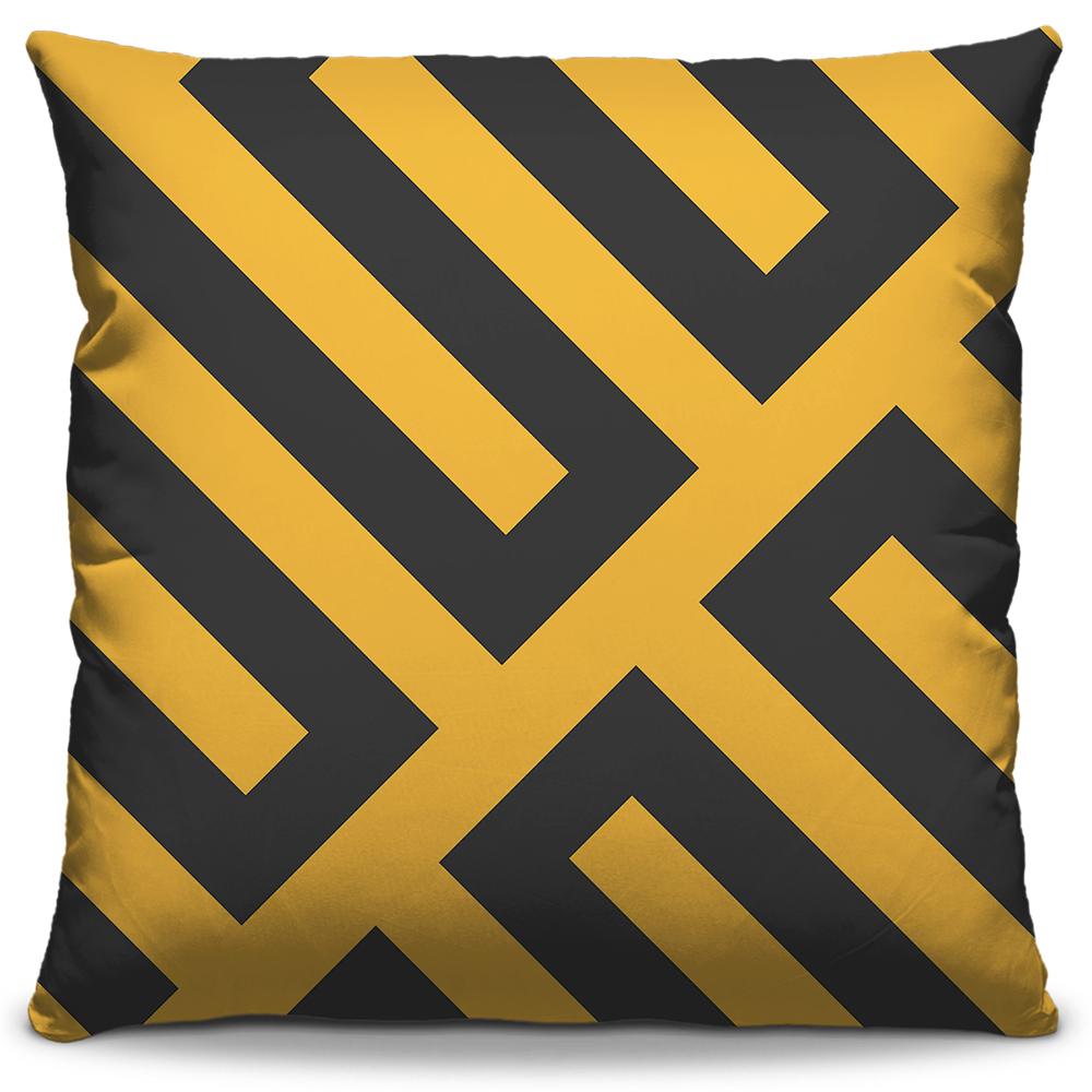 Almofada Decor Amarelo