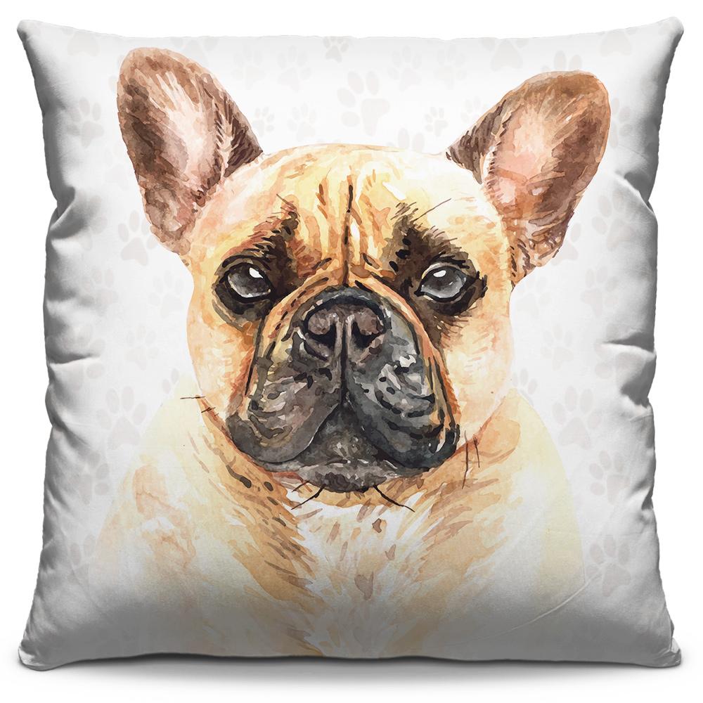 Almofada Desenho Bulldog Francês