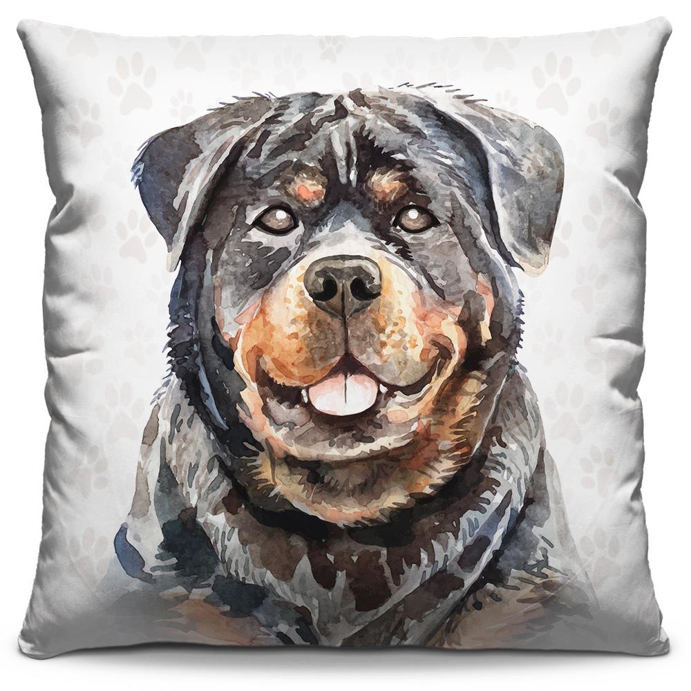 Almofada Desenho Rottweiler