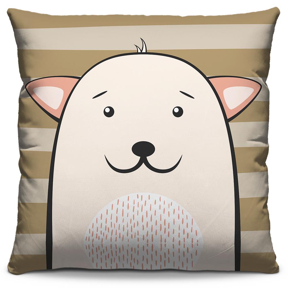 Almofada Dog Marrom