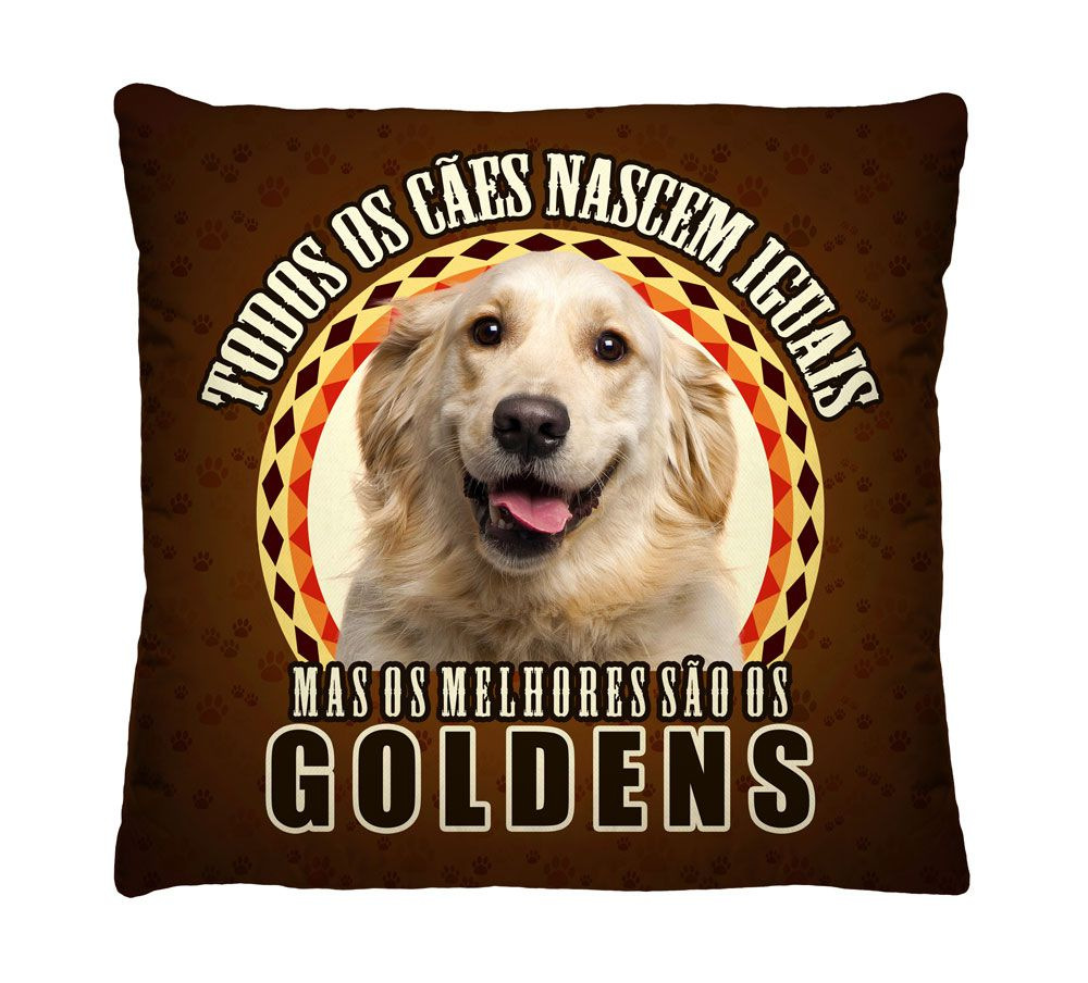 Almofada Golden Os Melhores
