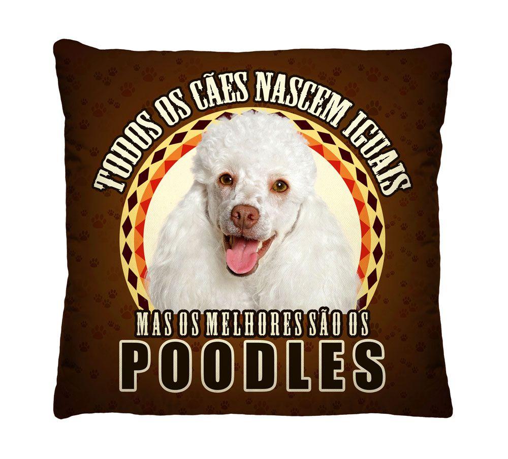 Almofada Poodle Os Melhores