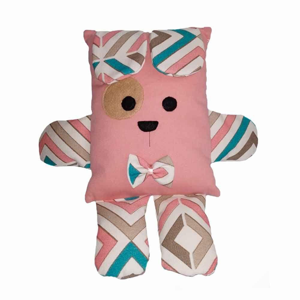 Brinquedo Almofada Pet Para Cachorro e Gato - Cachorrinho Rosê