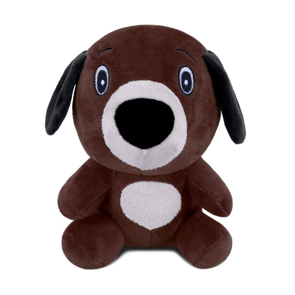 Brinquedo para Cachorro Pelúcia Dog Marrom Escuro