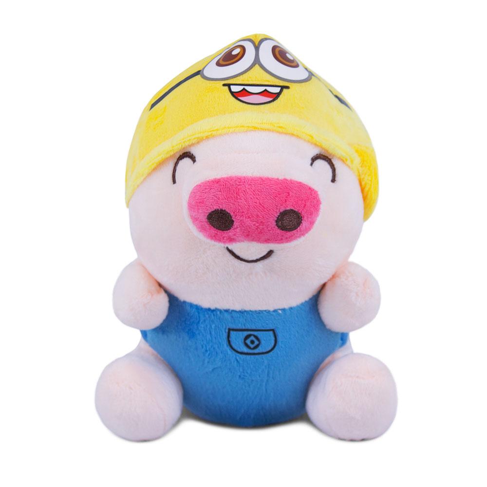 Brinquedo para Cachorro Pelúcia Porquinho Azul