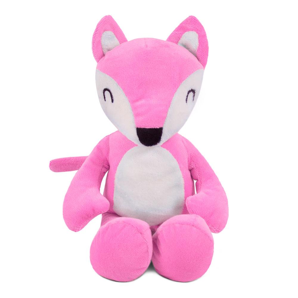 Brinquedo para Cachorro Pelúcia Raposinha Rosa