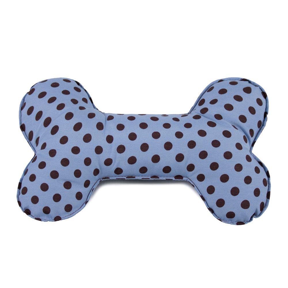 Brinquedo Osso Almofada Pet Para Cachorro - Poá