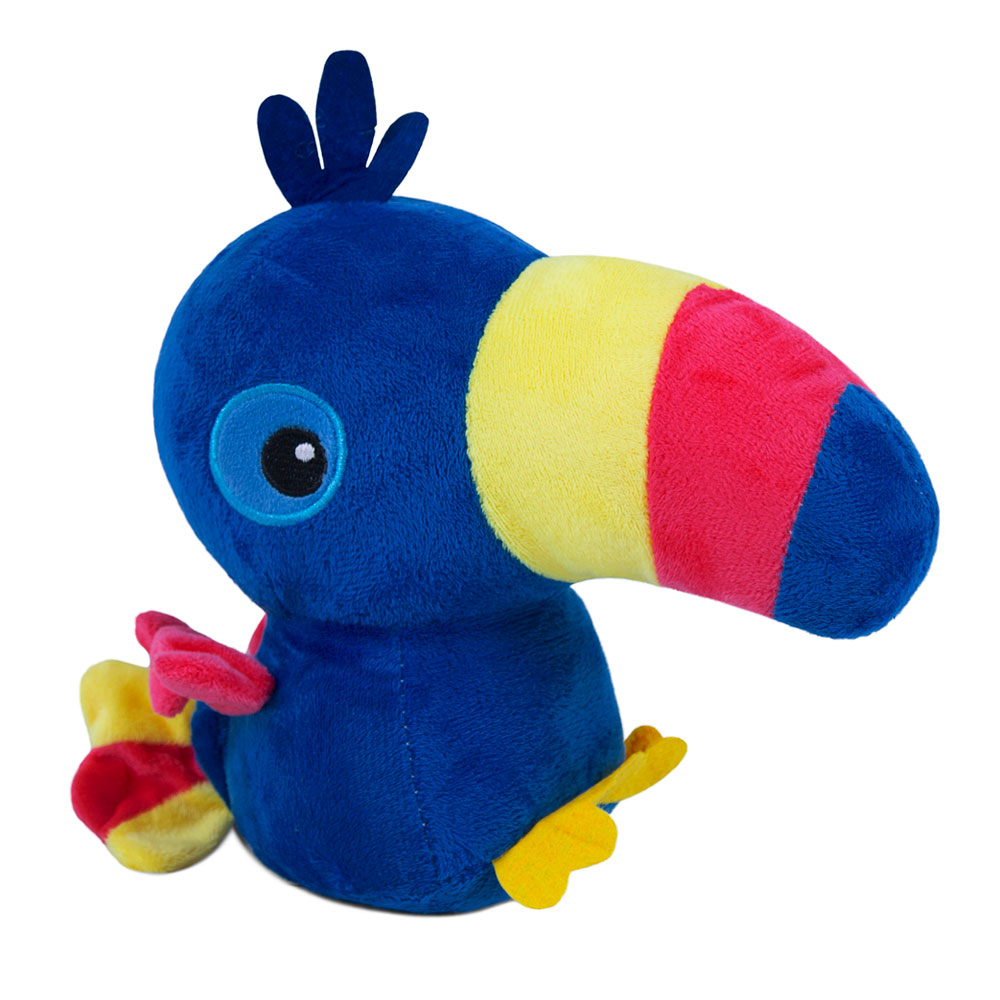 Brinquedo para Cachorro Pelúcia Tucano Azul
