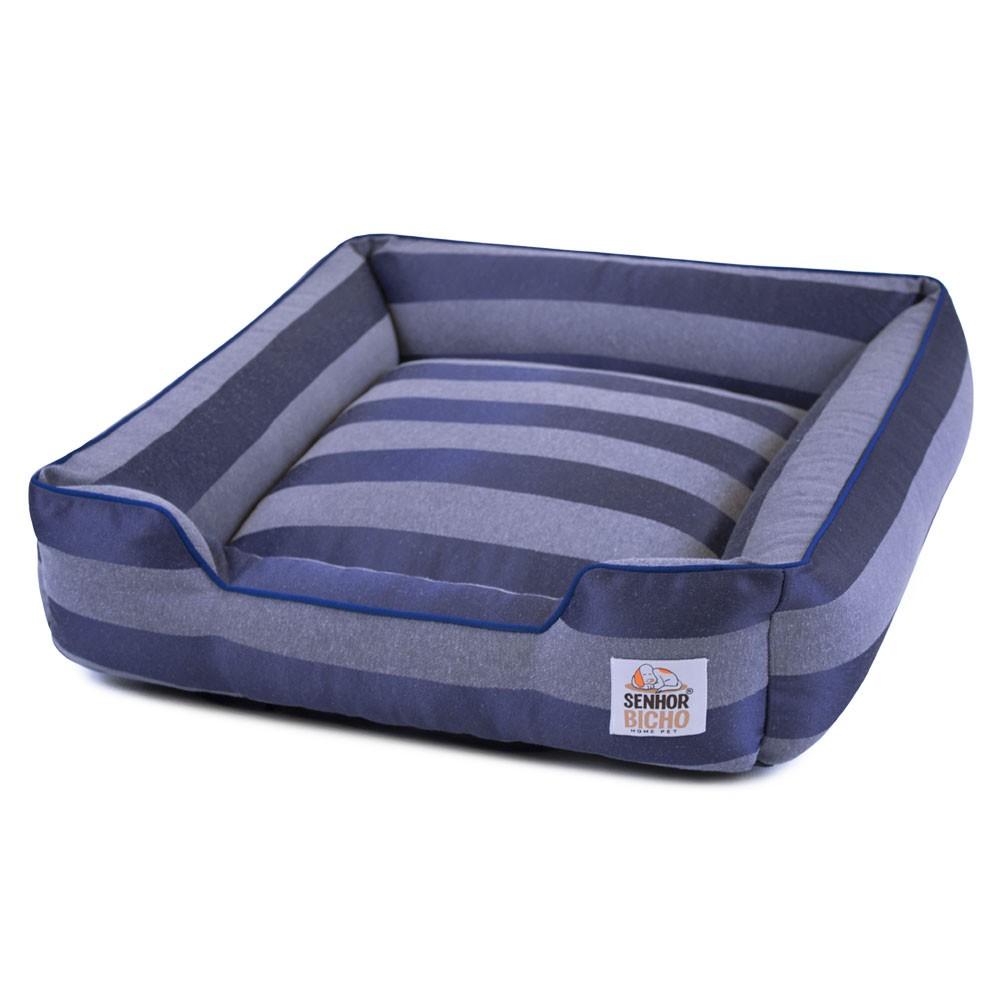 Cama de Cachorro com Zíper Olympus - G - Azul