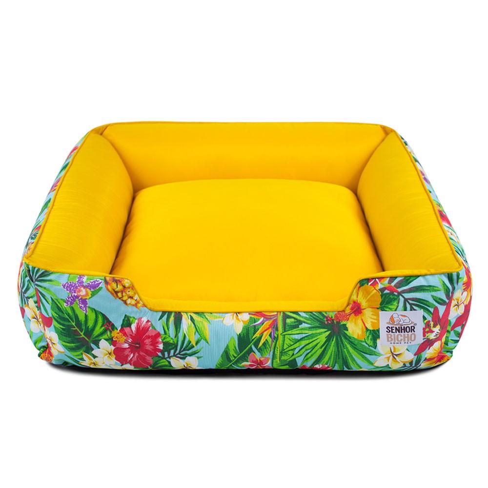 Cama de Cachorro com Zíper Pandora - G - Tropical