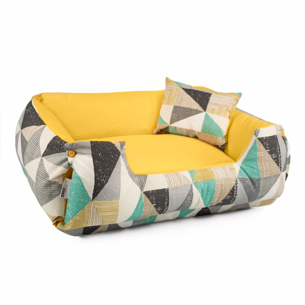 Cama de Cachorro Dupla Face Fancy - EGG - Sunshine