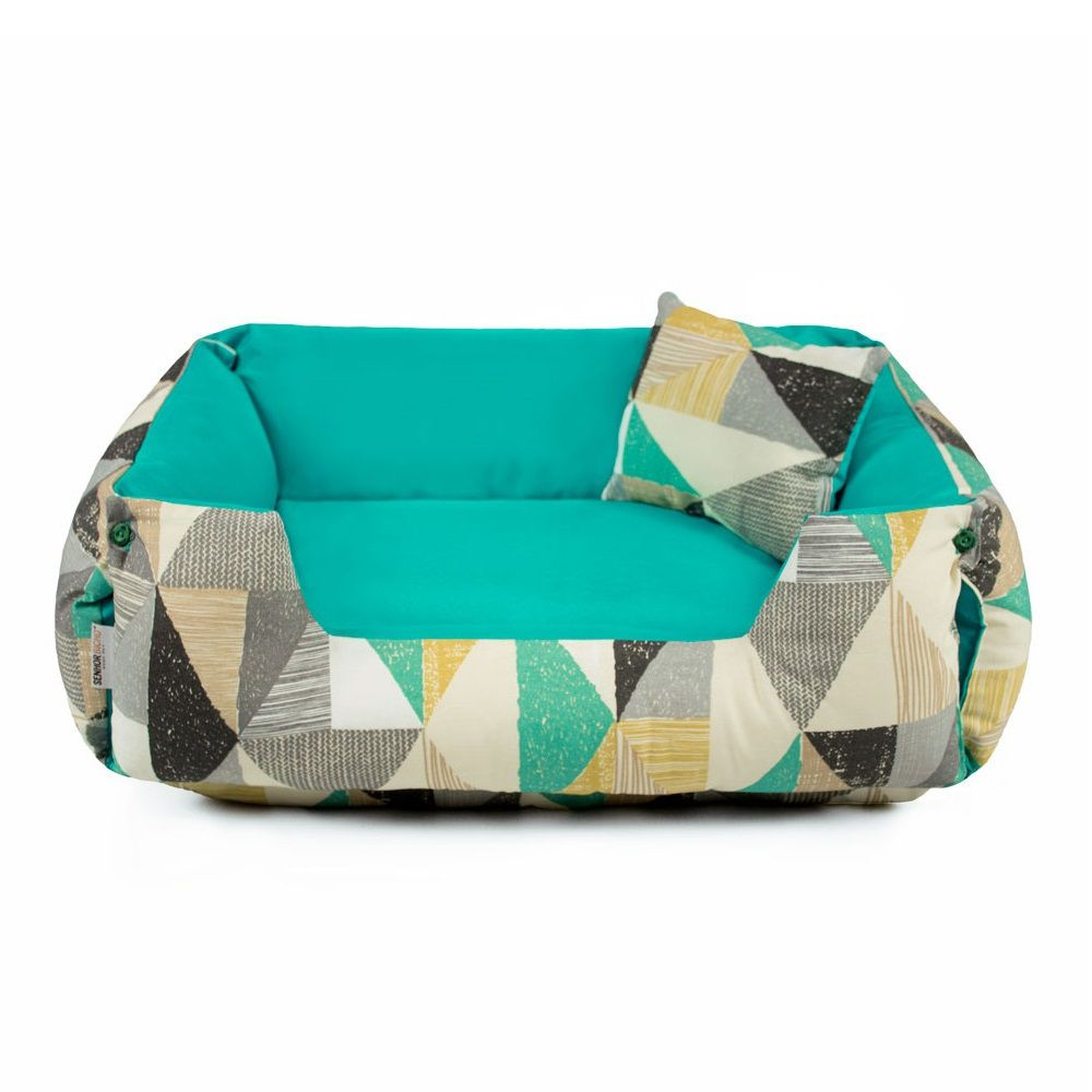 Cama de Cachorro Dupla Face Fancy - M - Forest