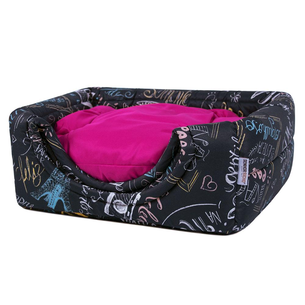 Cama de Cachorro Gato Toca Iglu Premium - M - Lousa Pink