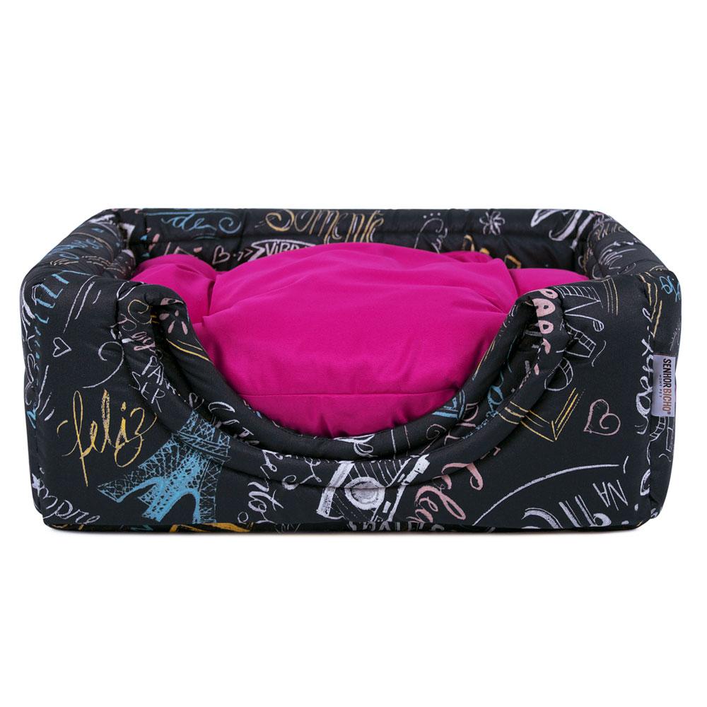 Cama de Cachorro Gato Toca Iglu Premium - P - Lousa Pink