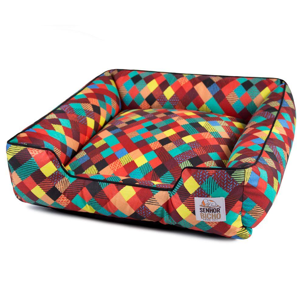 Cama de Cachorro Impermeável com Zíper Pandora Colors Preto