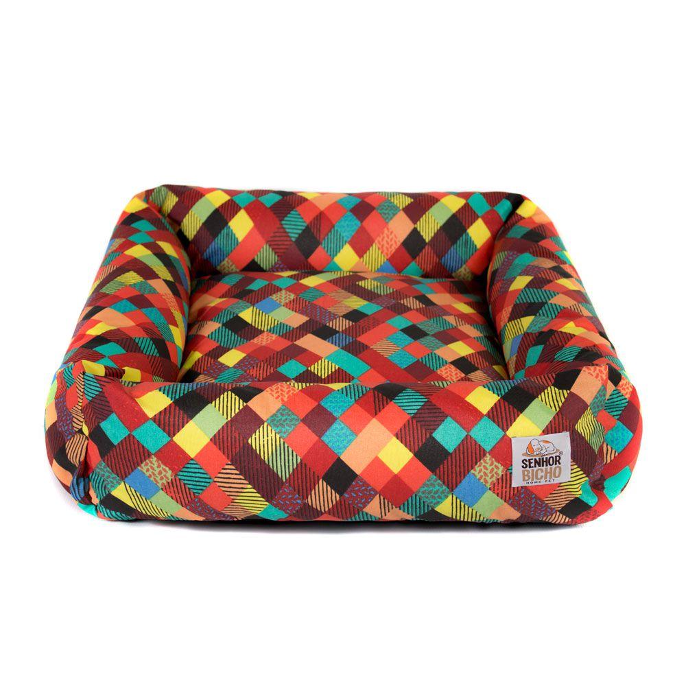 Cama de Cachorro Impermeável com Zíper Hanna - Especial 90x90 - Colors