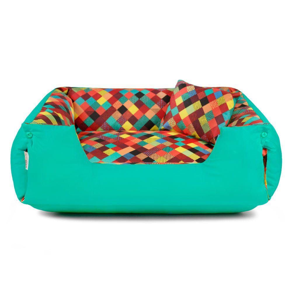 Cama de Cachorro Impermeável Lola - G - Colors Verde
