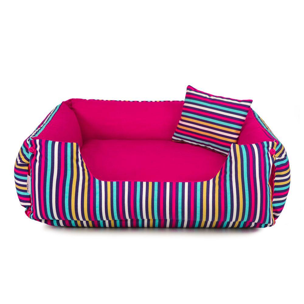 Cama Pet Cachorro Gato Lola Olympus - M - Pink