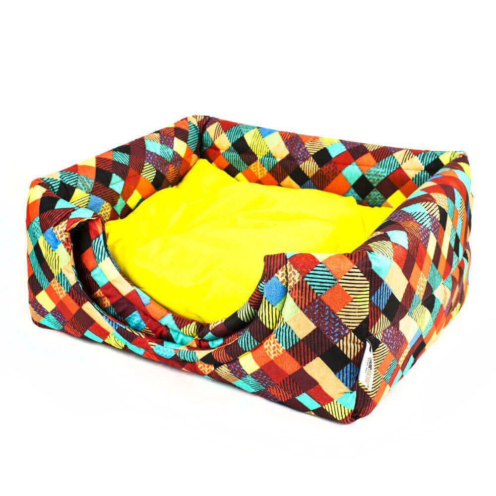 Cama de Gato Toca Iglu Premium - P - Colors Amarelo