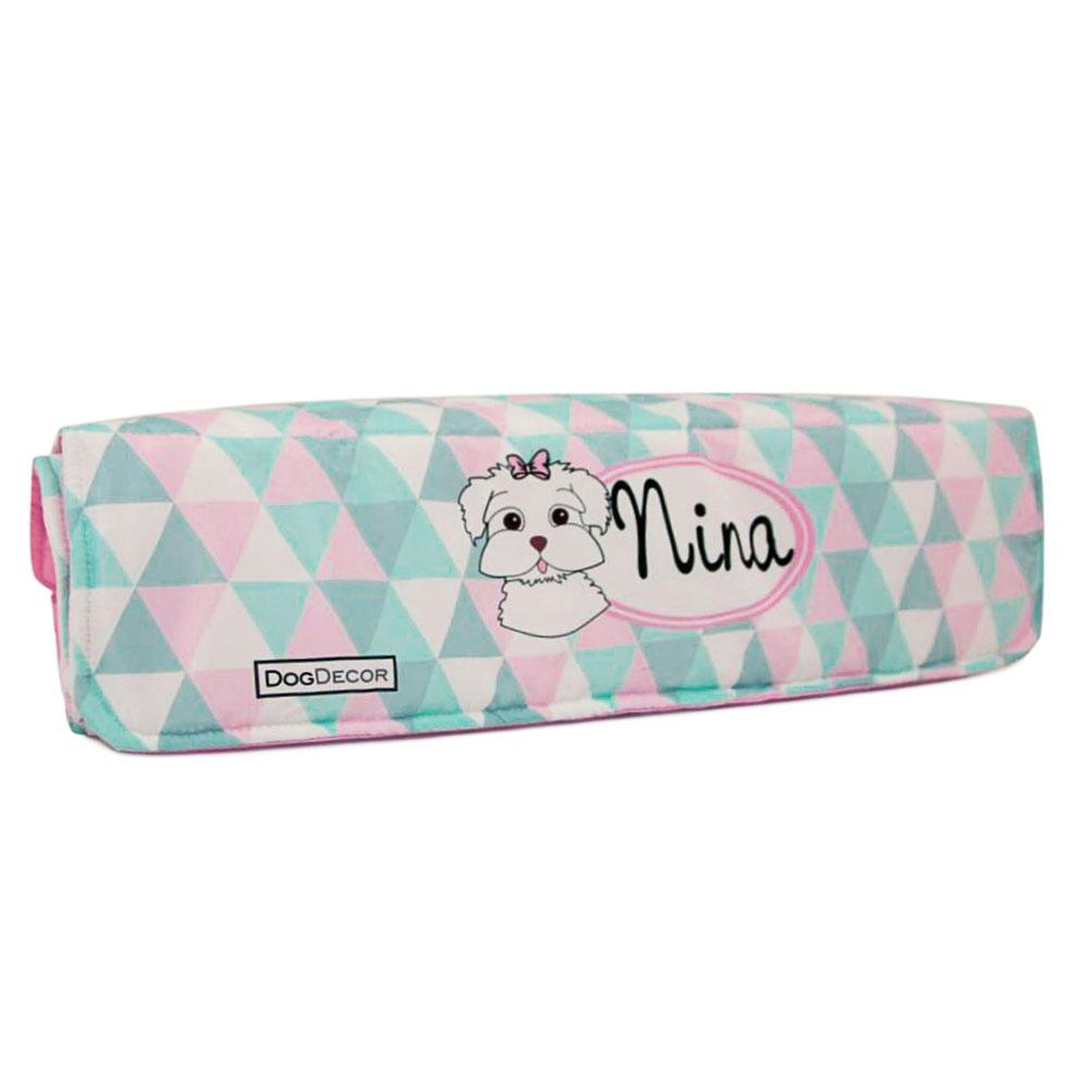 Cobertor Edredom para Cachorro 0,90 x 0,65 - Triângulos Personalizado