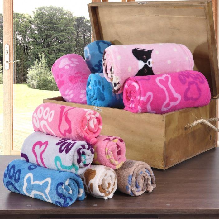 Cobertor para Cachorro e Gato Microfibra