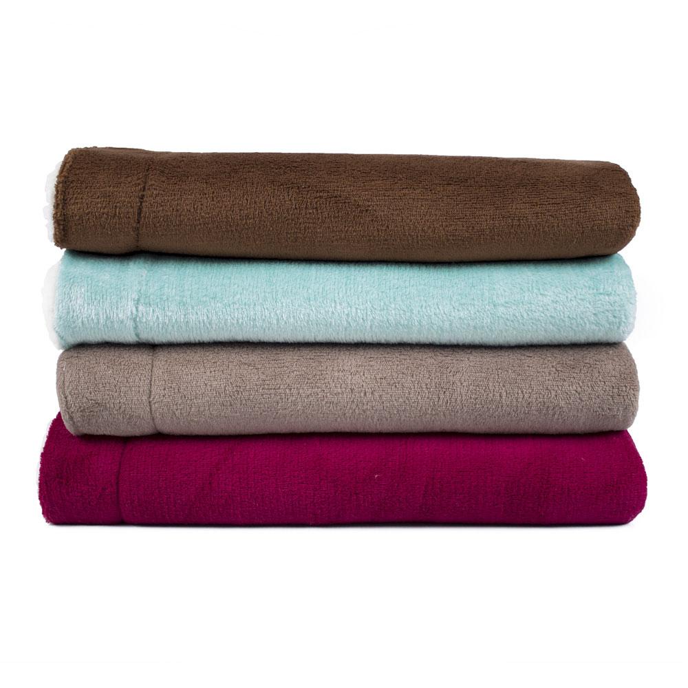 Cobertor para Cachorro Dupla Face Sherpa 0,95 x 0,80