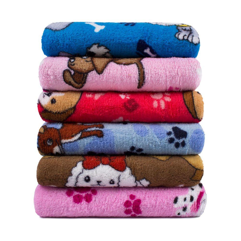 """Cobertor para Cachorro Microfibra """"Meu Pet"""""""