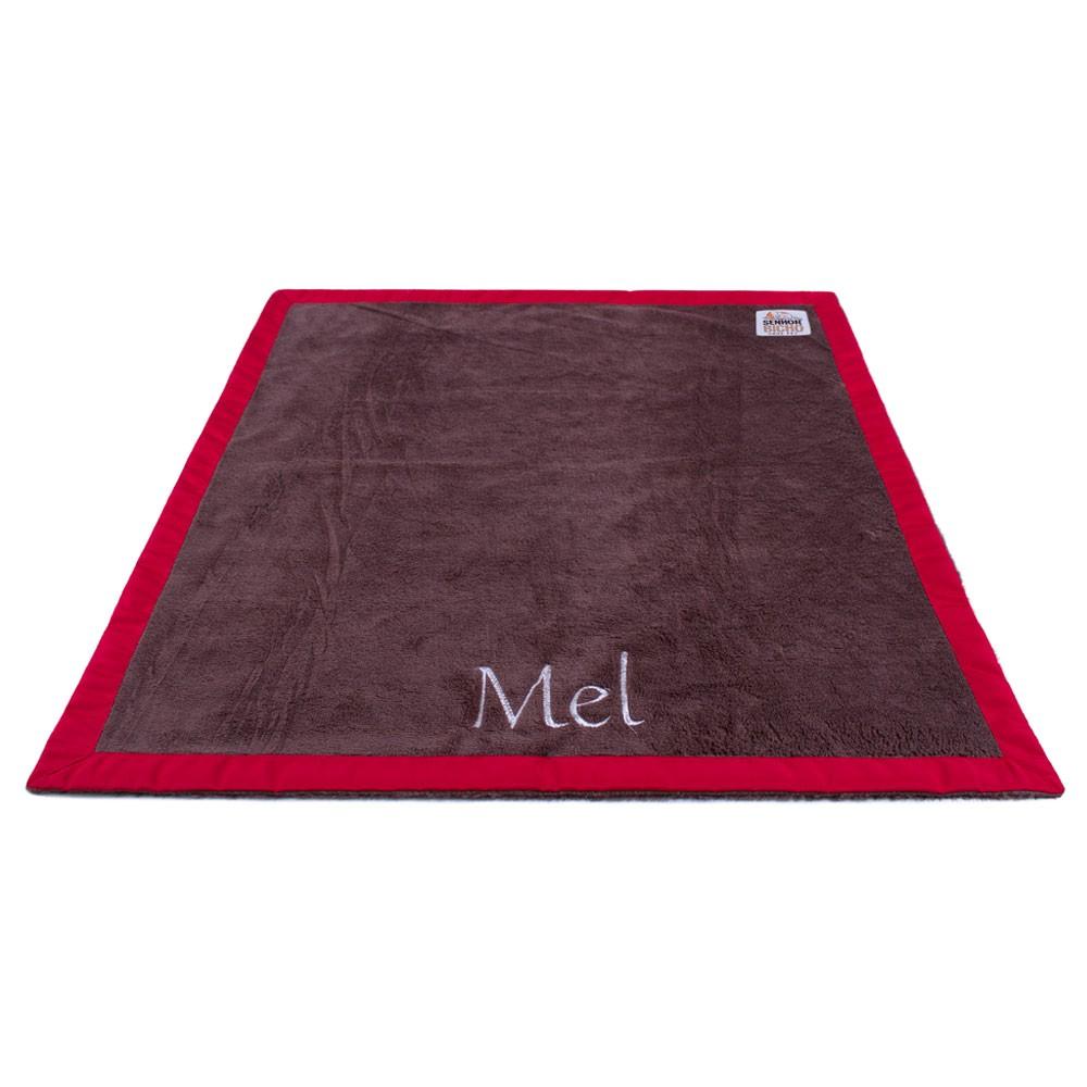 Cobertor para Cachorro Senhor Bicho Personalizável - GG -90x80