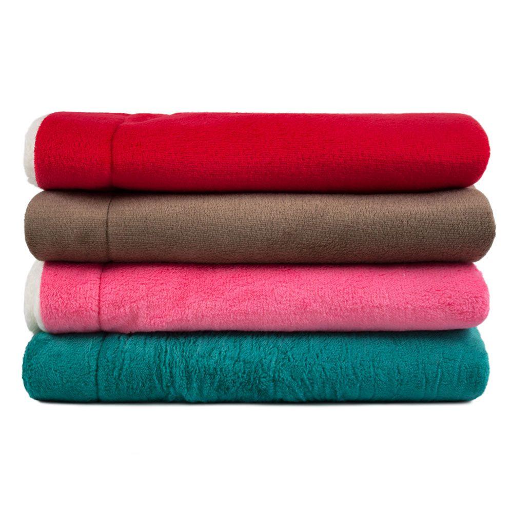 Cobertor para Cachorro Dupla Face Sherpa