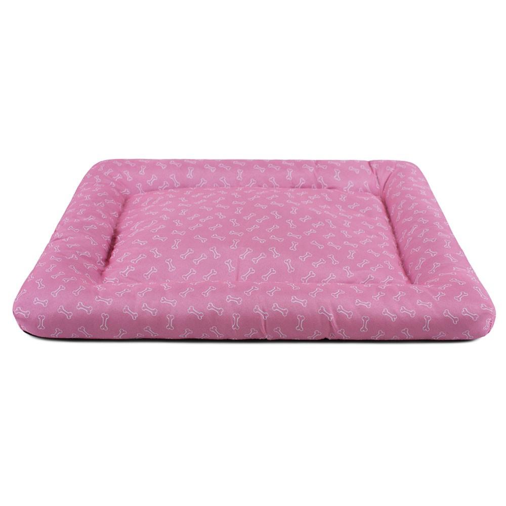 Colchonete para Cachorro Toque de Pêssego Meu Pet 66x54 - Ossinhos Rosa