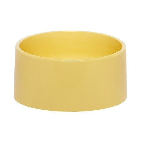 Comedouro para Cachorro Slim Amarelo 500ml