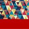 Geometric Vermelho