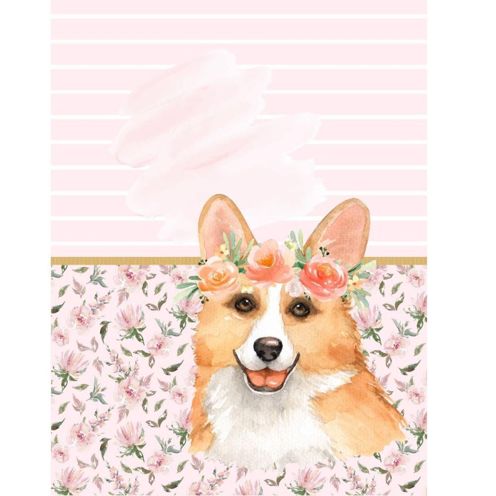 Diário Para Cachorro e Gato Pet Personalizado Com Nome