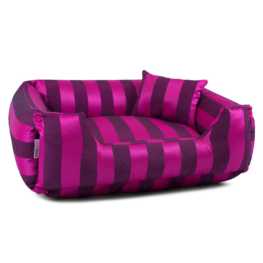 Enxoval Cama de Cachorro Dupla Face Olympus - GG - Pink
