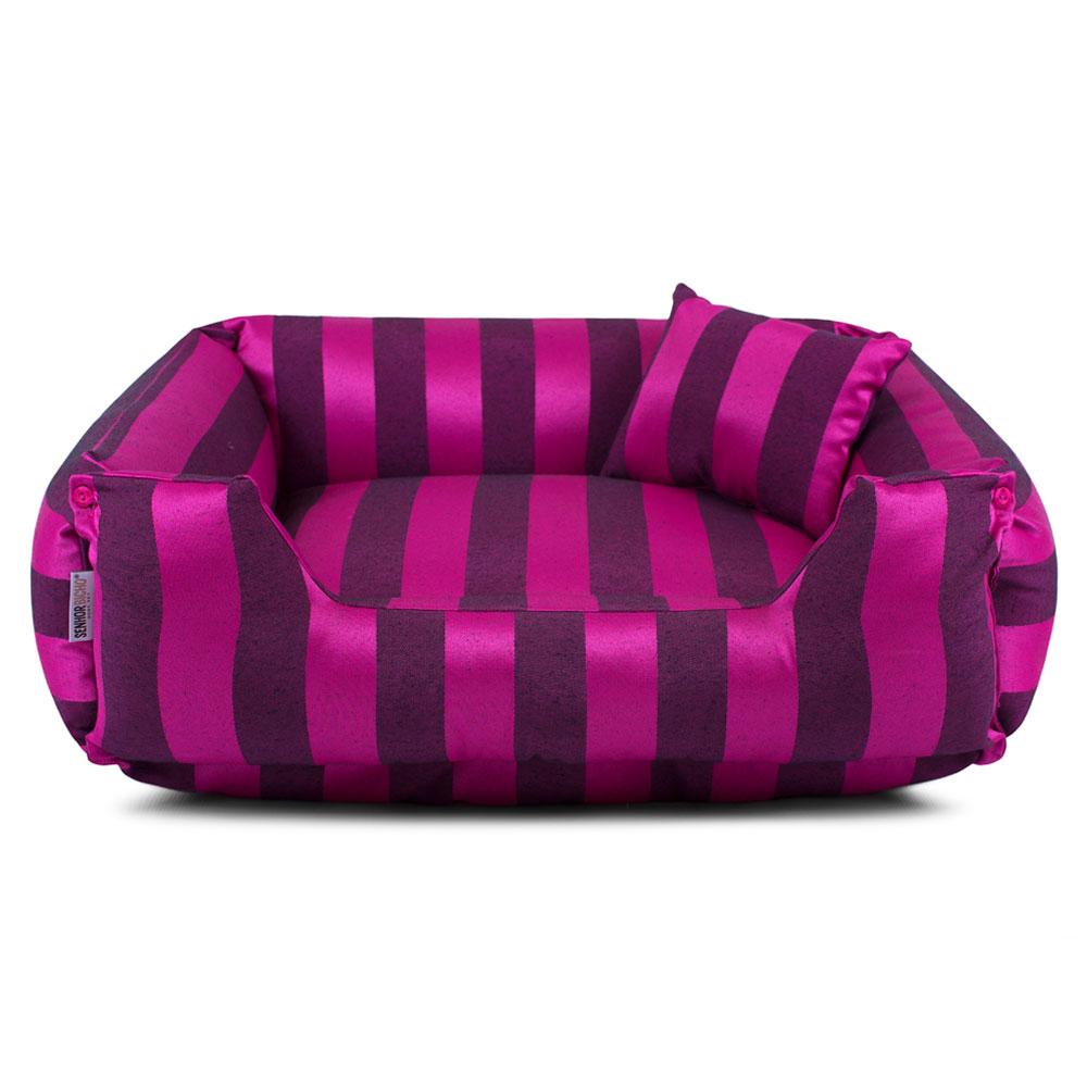 Enxoval Cama de Cachorro Dupla Face Olympus - P - Pink