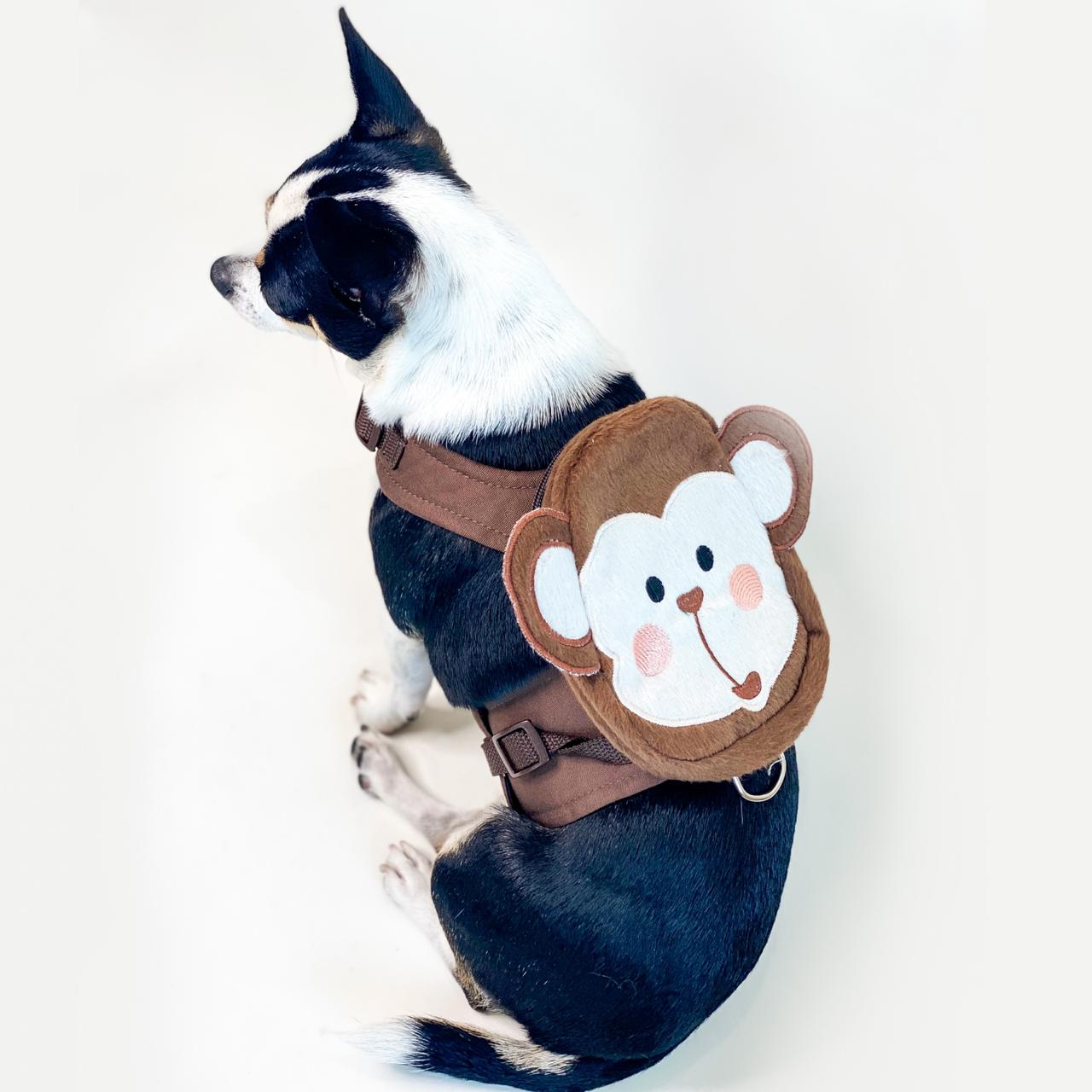 Guia Para Cachorro com Mochila