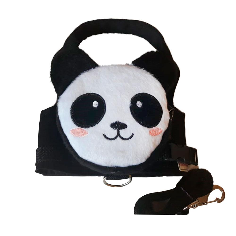 Guia Para Cachorro com Mochila Panda