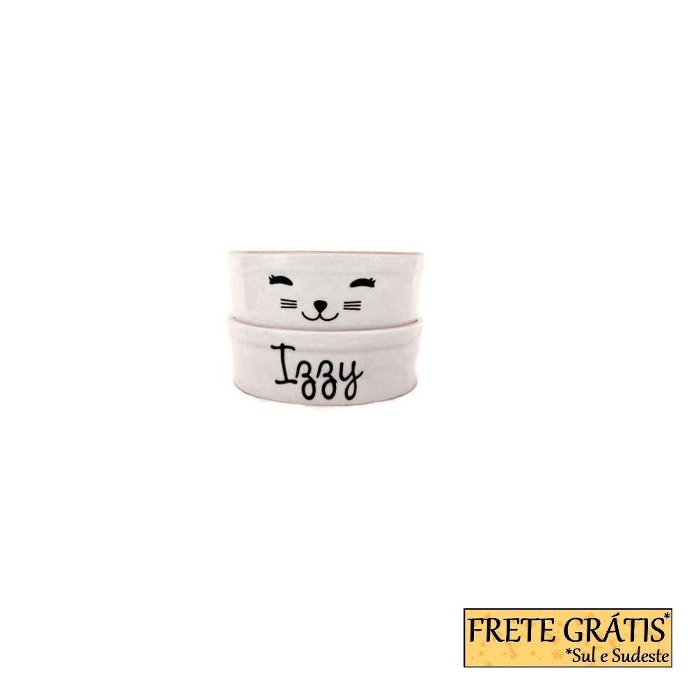 Comedouro Porcelana para Cachorro e Gato Personalizado Cat FRETE GRÁTIS*