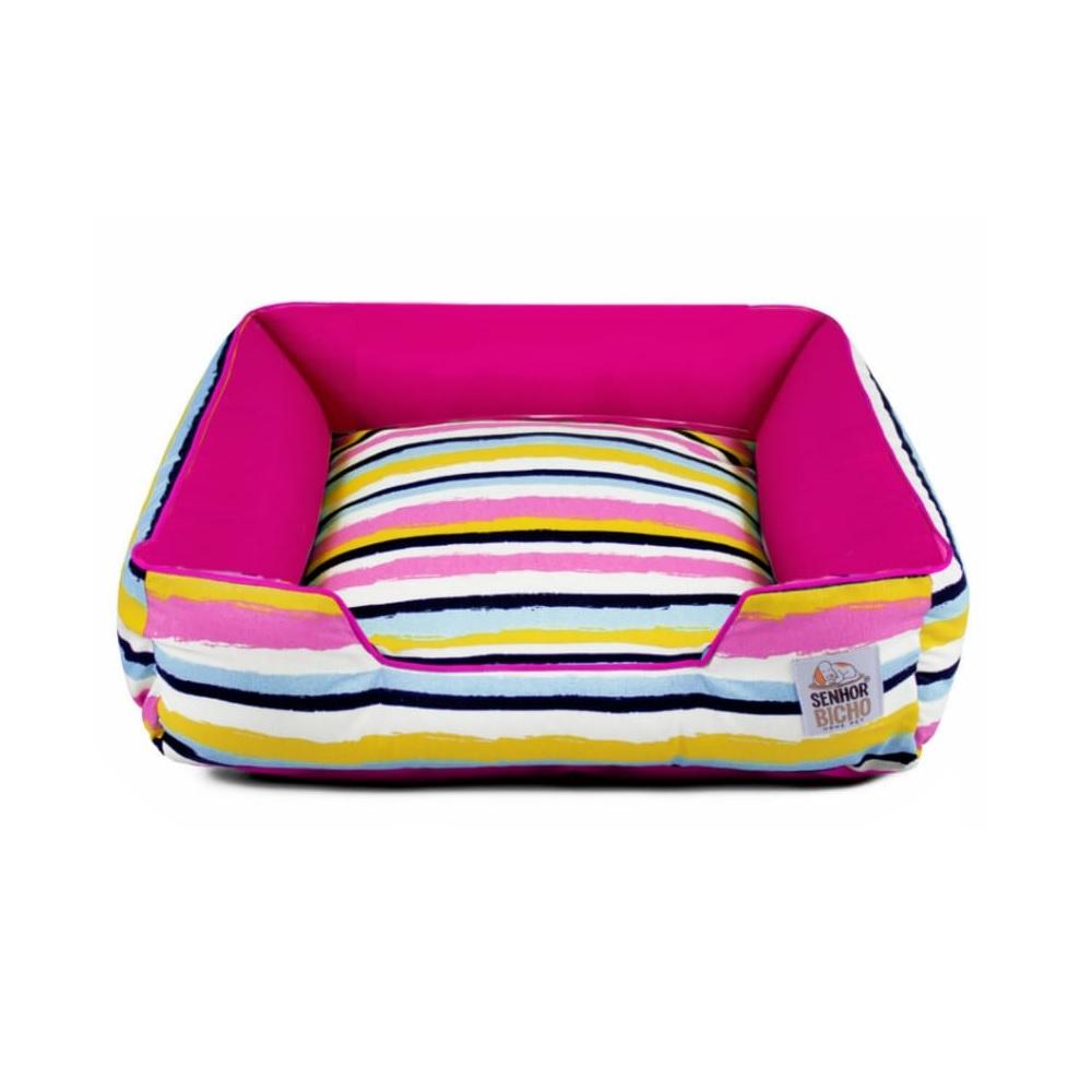 PRONTA ENTREGA - Cama de Cachorro com Zíper Pandora - M - Crayon Pink